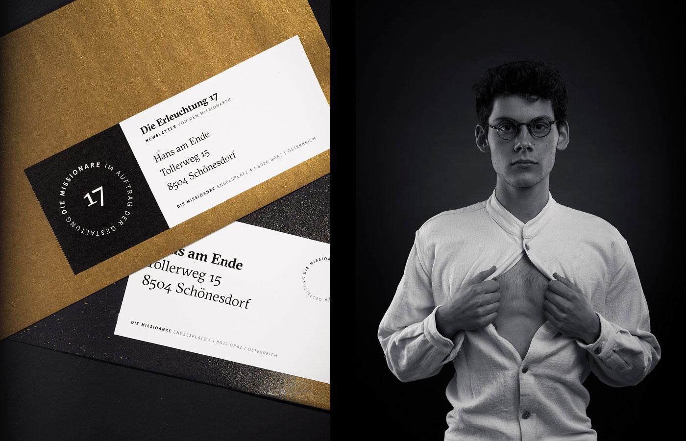 Die Missionare –Branding