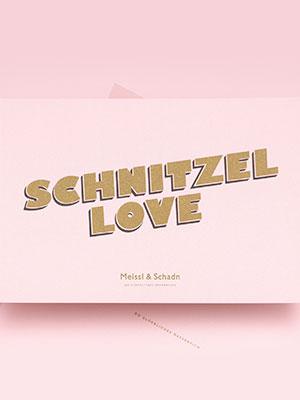 Schnitzel Love! – Branding Cover