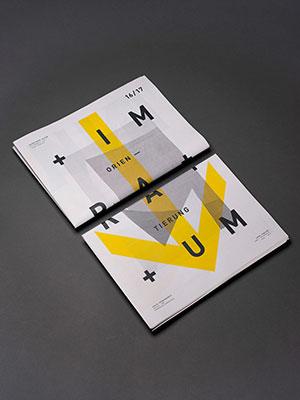 Orientierung im Raum – Cover