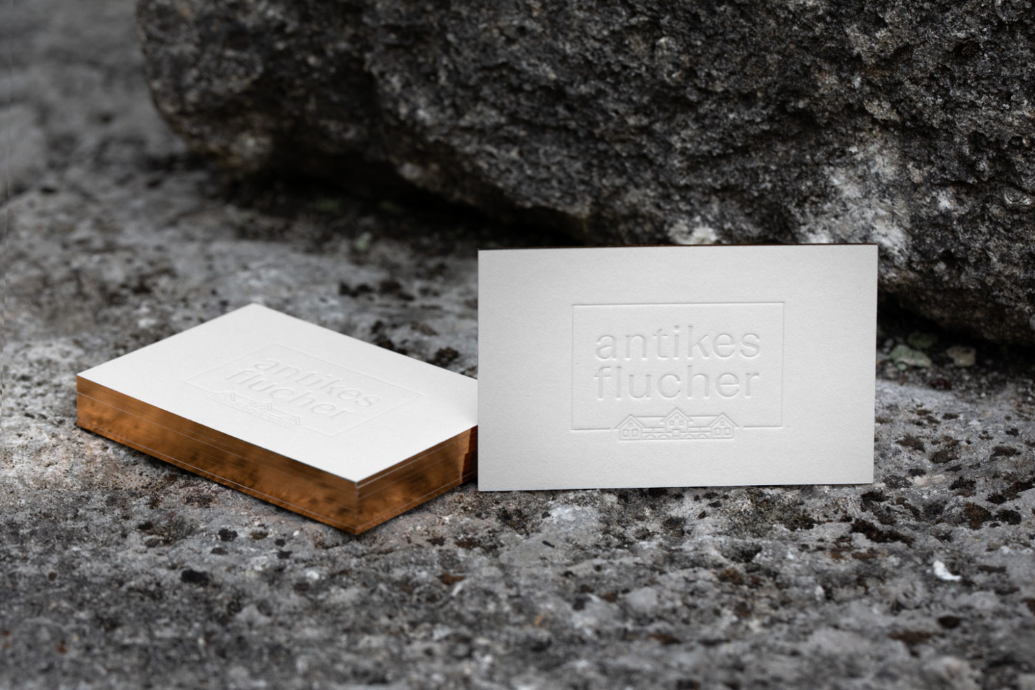 Antikes Flucher – Corporate Design